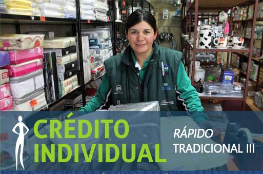 Crédito Individual - Rápido Tradicional 3